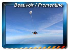 zones de sauts en parachute à Beauvoir Fromentine