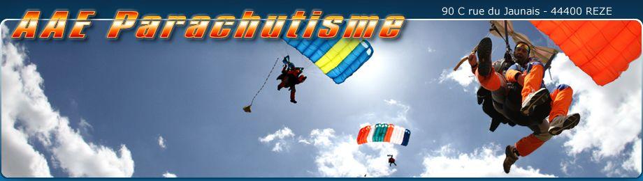 Saut en parachute à Saint-Nazaire
