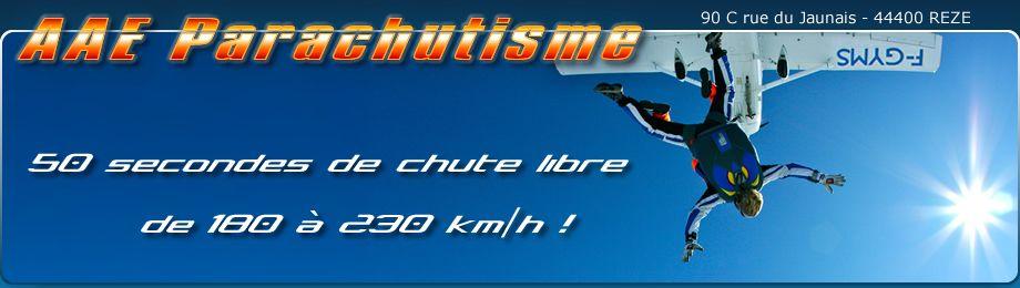 saut en parachute tandem