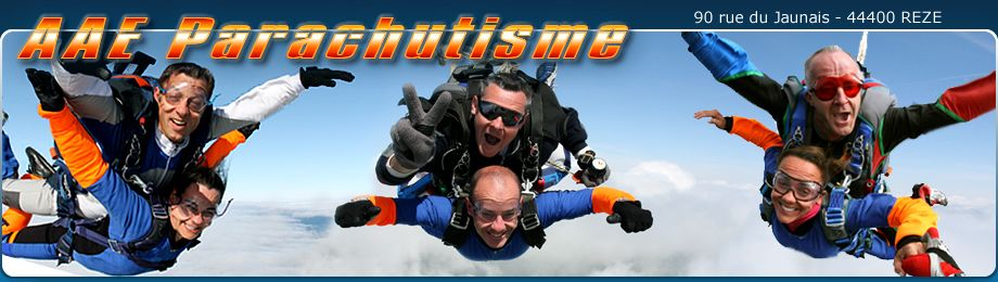 L'équipe AAE Parachutismes