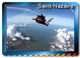 zones de sauts en parachute à saint-nazaire