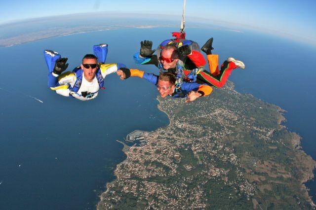 parachutisme ile d'yeu