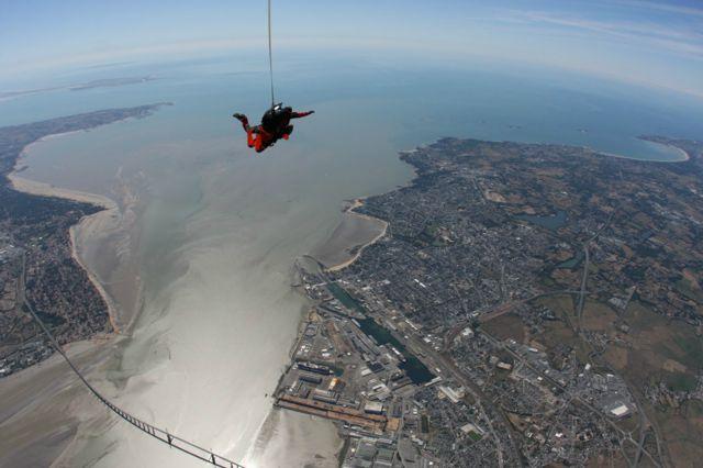 saut en parachute saint nazaire